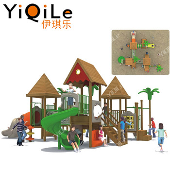 Wooden Castle Kids Wood Playground Outdoor Modular Playground Equipment Dimensions Buy Kids Wood Playground Outdoormodular Playgroundplayground