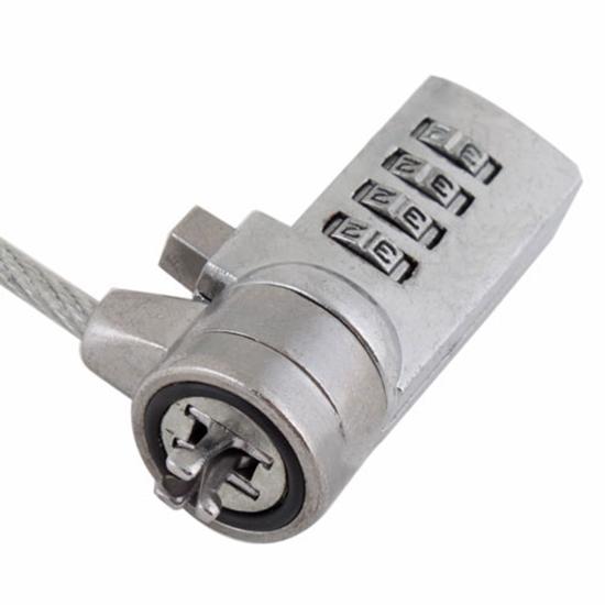 1 шт. / lot безопасность ноутбук лэптоп замок кабель цепь HITM # 7049