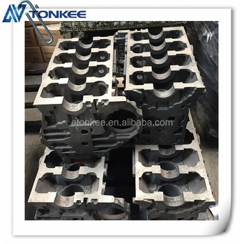 Original J05E engine cylinder block & cylinder body for SK200-8
