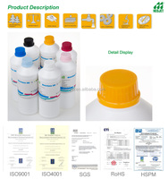 Ourdoor Digital Banner Printing Ink Compatible For Mimaki Mutoh Roland Epson Eco Solvent Ink DX5 DX7