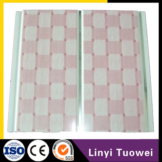 La espuma del pvc impermeable pared del ba o que cubre los for Paneles de pvc para banos