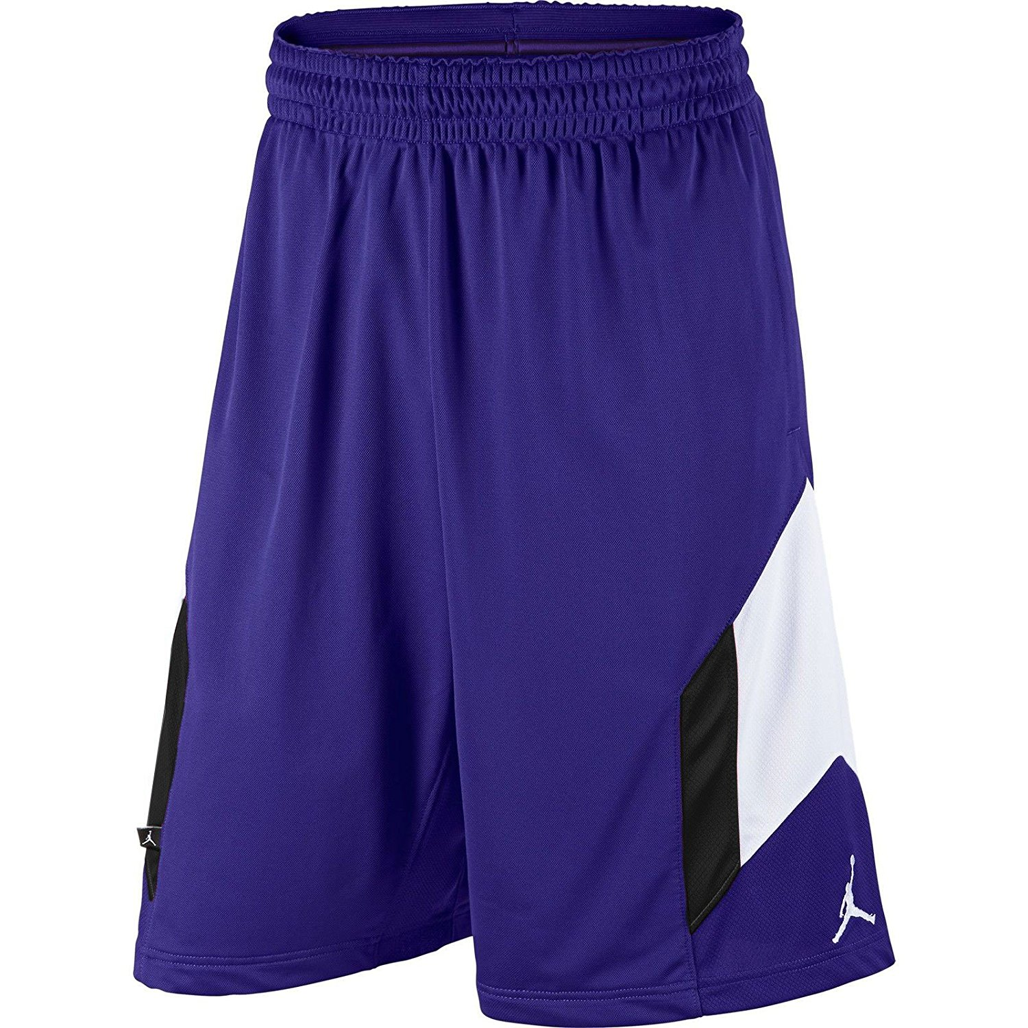 eab85f7e02e Get Quotations · Air Jordan Rise 3 Men's Basketball Shorts  Purple/White/Black 612853-423