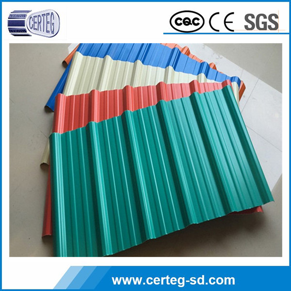 Used house building material corrugated sheet metal roofing rolls price per sheet