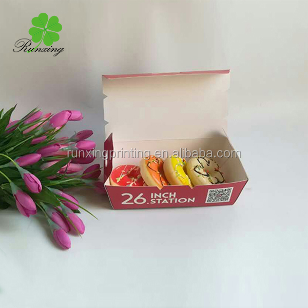 Healthy bakery pastry outer paper box