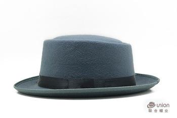 New Fashion Mens Short Brim Wool Felt Fedora Stetson Hat - Buy ... f1d9ebc32b4