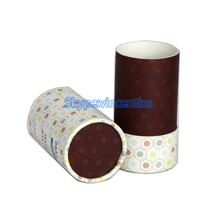 Factory price new design biodegradable pink lipstick container paper lipstick tube push up paper tubes