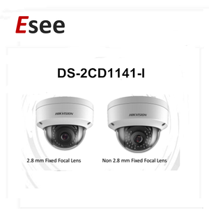 High Resolution Hikvision 4MP Original DS-2CD1141-I 4MP Plastic IP Dome Camera