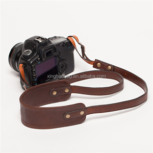 Different colors genuine leather camera wrist strap gym wrist straps