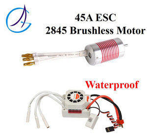 RC Car 45A ESC 2845 3930KV Waterproof Brushless Motor