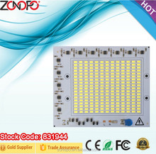 100w Flood light spot light ac motor ac engine led pcb without driver 2835 zonopo ac pcb