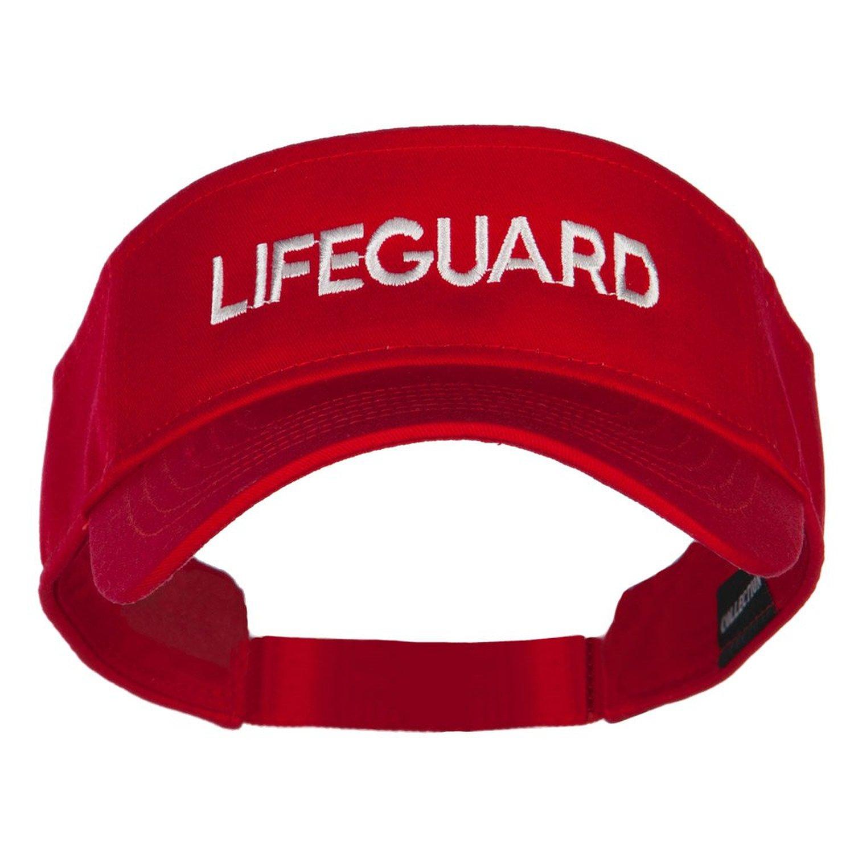 368e96dea6d0 Buy Lifeguard Embroidered Strap Back Visor - Dark Green in Cheap ...