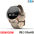 45 Days Standby 37mm Dia. 2 Time Zone Switzerland Movement Waterproof Smart Fitness Watch