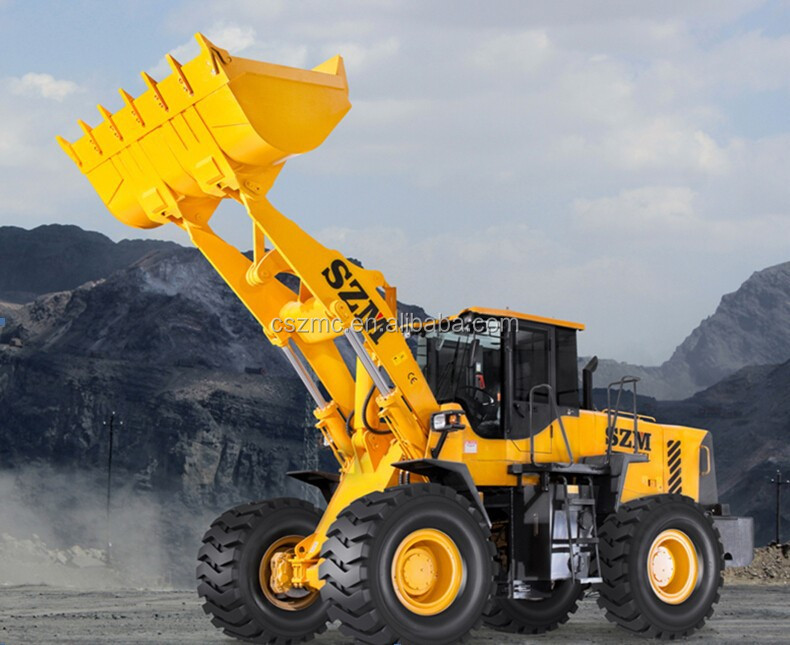 SZM brand new 6 tons wheel loader ZL60