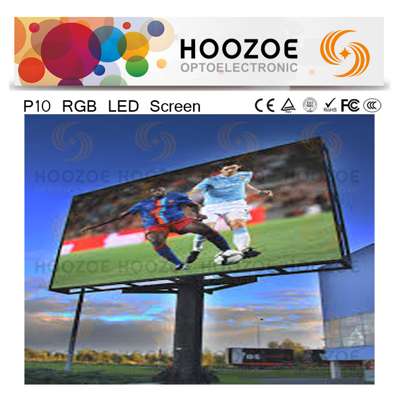 Canada P10 RGB LED Adertising Screen for Outdoor