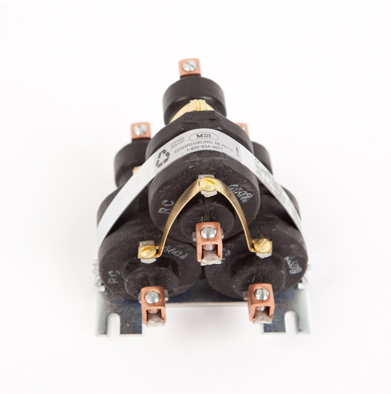 600 Volt alternating current switch Nieco 4016 3 pole 80 AMP