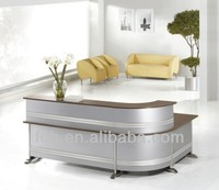 Guangzhou Modern Silver Service Desk, Information Desk, Service Counter Office Furniture(FOH-JD26-B)
