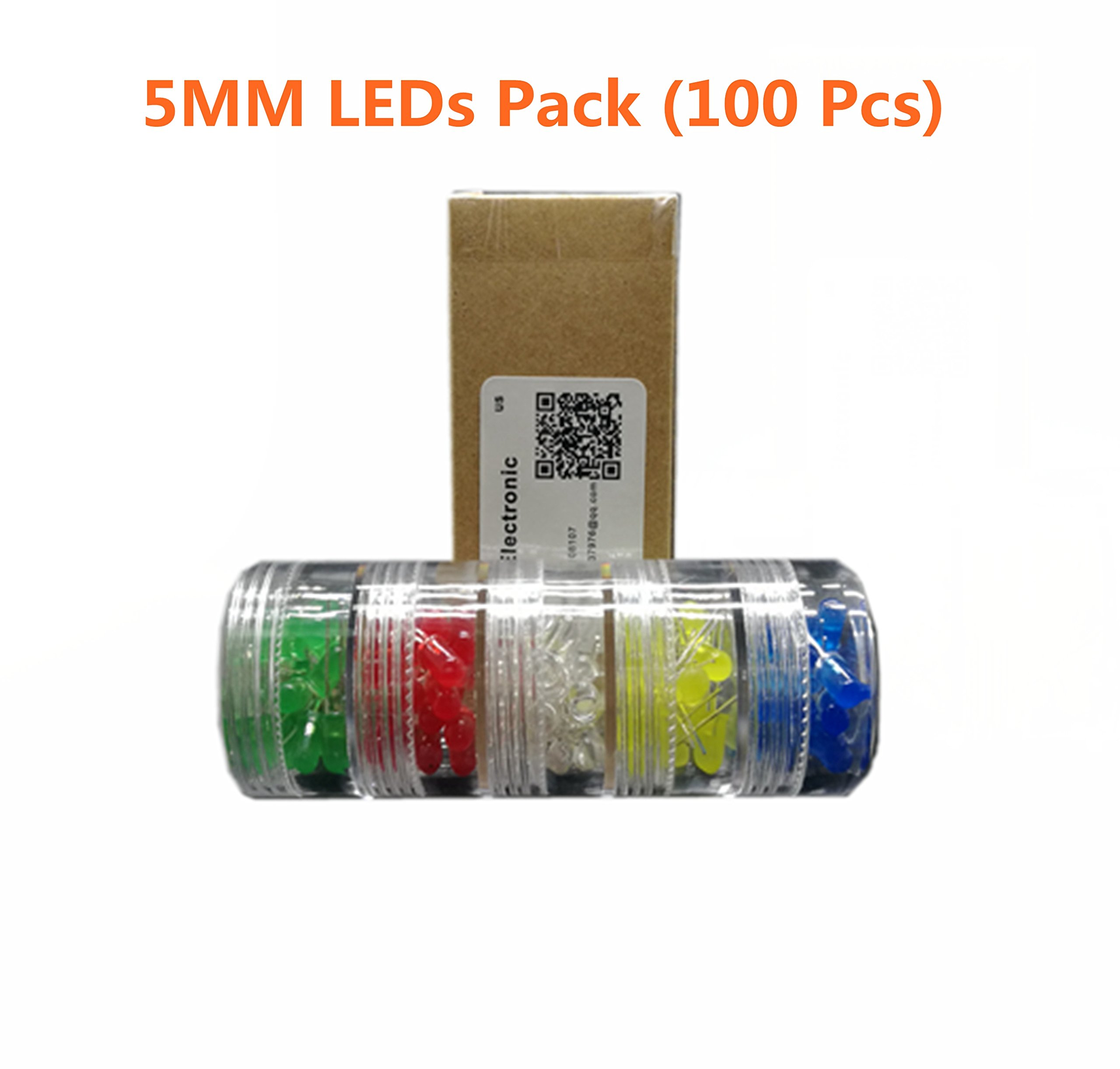 Cheap Diy Led Circuit Find Deals On Line At Alibabacom Two Flasher Uses Any Dc Supply From 3v To 12v Flash Rate Get Quotations 5mm 5 Different Colors100 Pcsit Is Ideal For Your Arduino