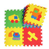 environmental soft floor puzzle EVA baby mat 3d airplane puzzle