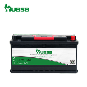 German Standard(DIN)New Package 12V 92AH Maintenance Free Auto Car Battery From China