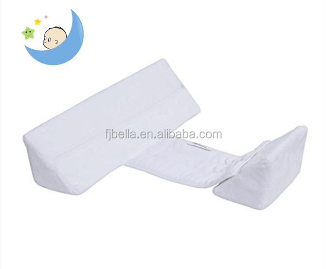 White Color Newborn Memory Foam Baby Sleep Pillow Anti-Roll Pillow