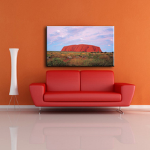 Wholesale huge red stone sample picture of canvas artwork painting