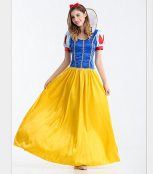 wholesale halloween costumes the snow white cosplay suit for ladies fancy dress