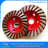3'' 4'' Concrete Floor Grinding Cup Wheel with 9mm thickness