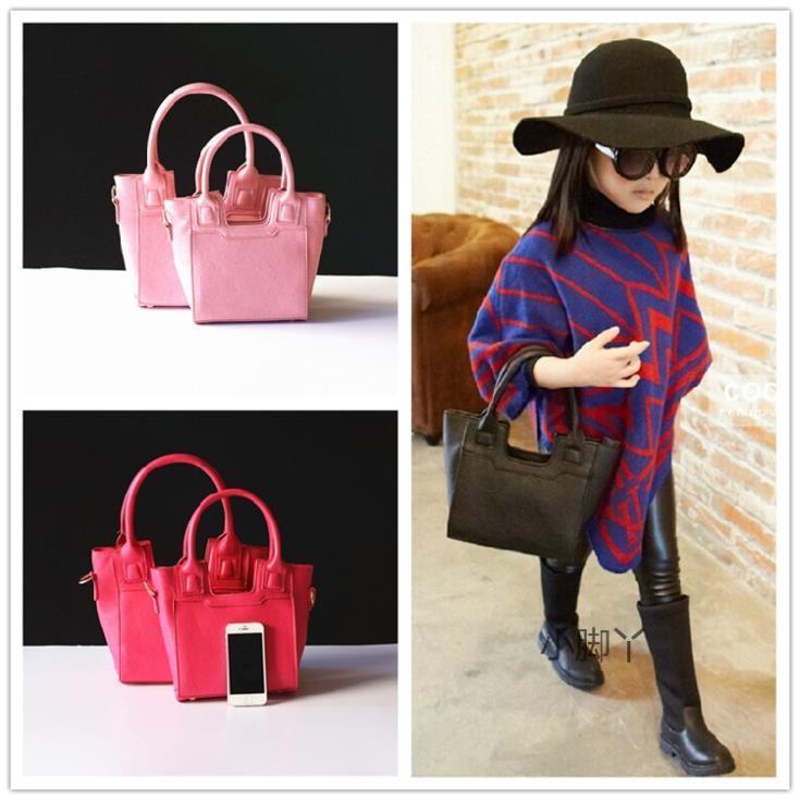 New 2017 Fashion Brand Kids Women Bags Handbags Pa Child Bag Kid Party Pu Shoulder Messenger For S