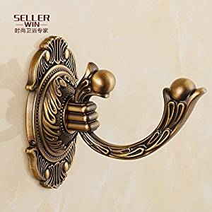 JinRou Personality unique style design Luxury European-style rustic solid hook gig bathroom accessories