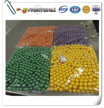 Chinese supplier of paintball balls wholesale colourful caliber .68 paintballs with nontoxic