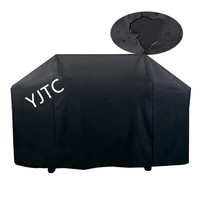 Waterproof BBQ Grill Cover oxford cloth outdoor black barbecue cover