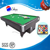 KBL-8009E Manual coin and eletronic coin Billiard table with MDF playfield, MDF pool table with rubber adjusted leg level,OEM