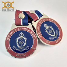Customized Sports Meeting Medals Die Cast Metal Medals For Marathon Sports Meeting