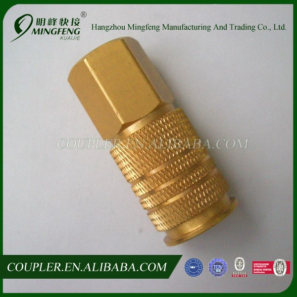 Quality-assured mini hose fitting