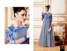Bollywood Party Wear Anarkali <span class=keywords><strong>Salwar</strong></span> Kameez Gown Jurk Materiaal Bridel