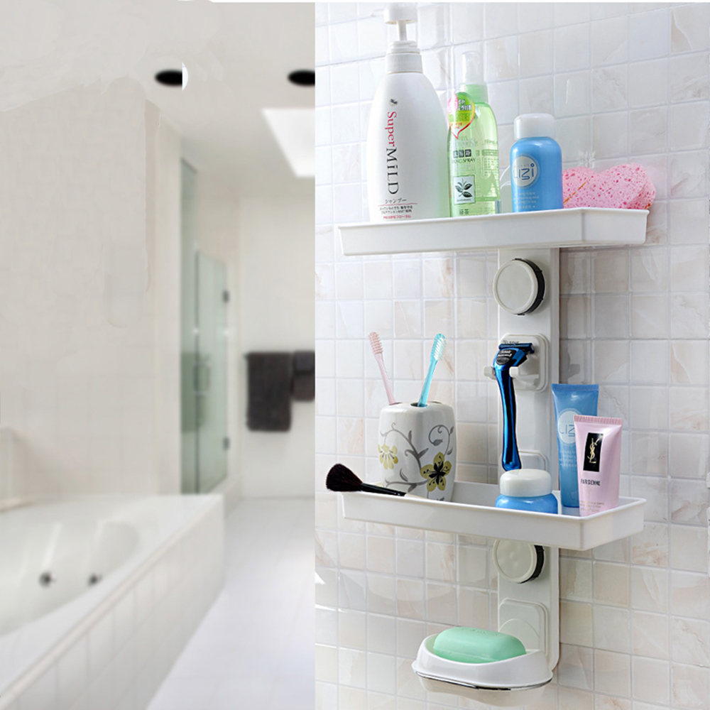 Wall Mounted Plastic Bath Shelf Bath Caddy - Buy Bath Caddy,Plastic ...