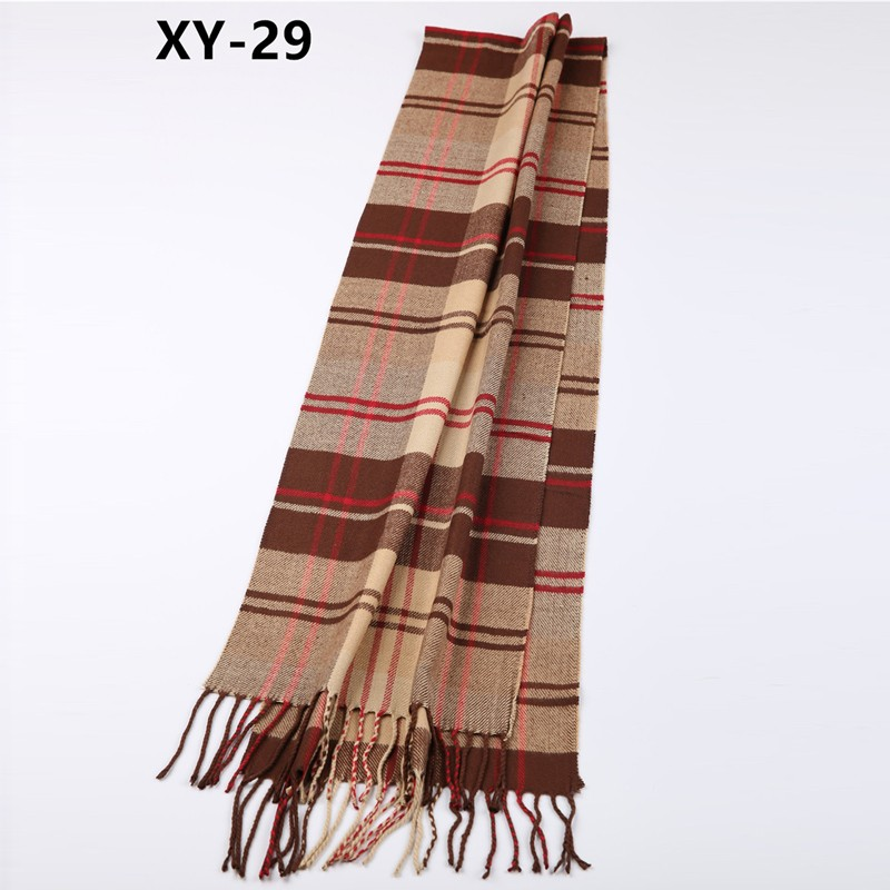 XYWJ21-29 wholsale colorful acrylic winter scarf for women