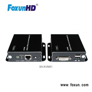 FOXUN SX-KVM01 KVM Switch Extender With DVI Over Single UTP with IR