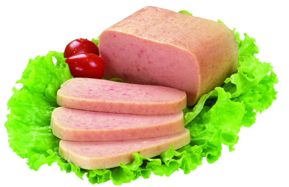factory outlet High quality and inexpensive safety raw materials pork easy-open lid Canned Luncheon Meat With Ham
