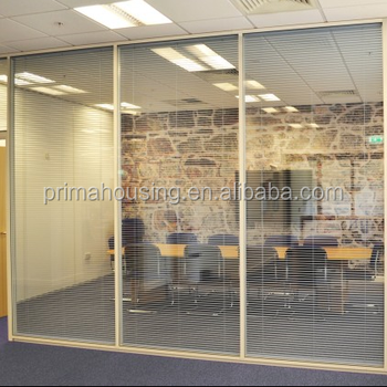 Commercial Clear Office Partitions Conference Room Divider