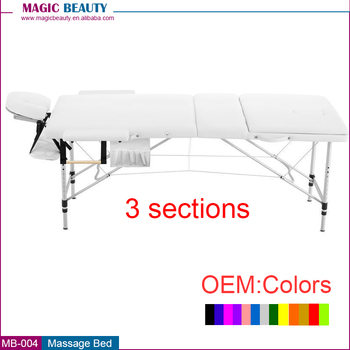 3 section aluminum portable massage table sex massage bed  salon furniture. 3 Section Aluminum Portable Massage Table Sex Massage Bed Salon