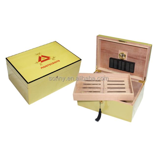 Premium Cedar Wooden Montecristo Cigar Humidor Box - Buy Montecristo ... 6c7097270a01a