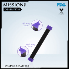 vamp stamp eyeliner with angle brush,wing stamp, eyeliner ink