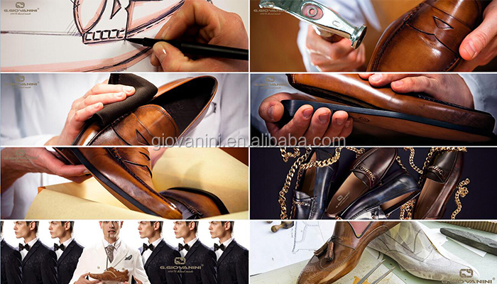 UK Market in Guangzhou factory production lines 2018 wholesale men dress shoes