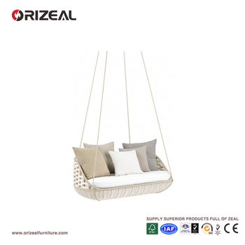 Outdoor Rattan 2- Seater Hanging Swing Sofa OZ-OR055