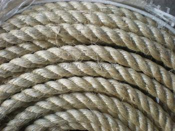 100 natural color 22mm sisal rope malina rope hemp rope sisal fiber savety rope best - Sisal Rope