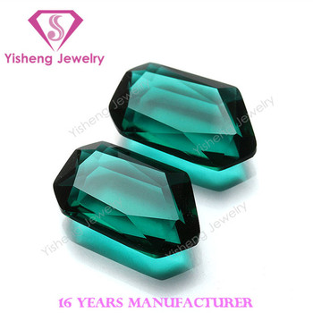 China shop on website green special glass gemstone beads for clothes