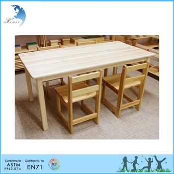 Montessori Materials Furniture Kids Desk And Chair Buy