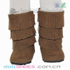 fashion brown 18 inch American girl doll boots