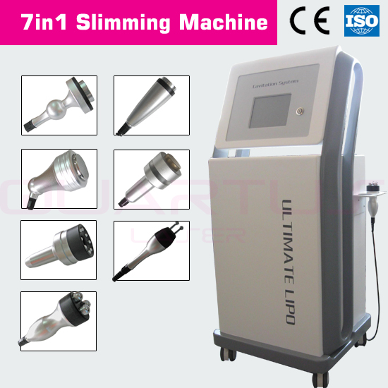 I MAX vacuum cavitation RF laser therapy system slimming machine